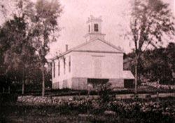 Montville Baptist Church circa 1892