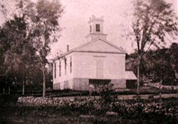 Montville Baptist Church circa 1892