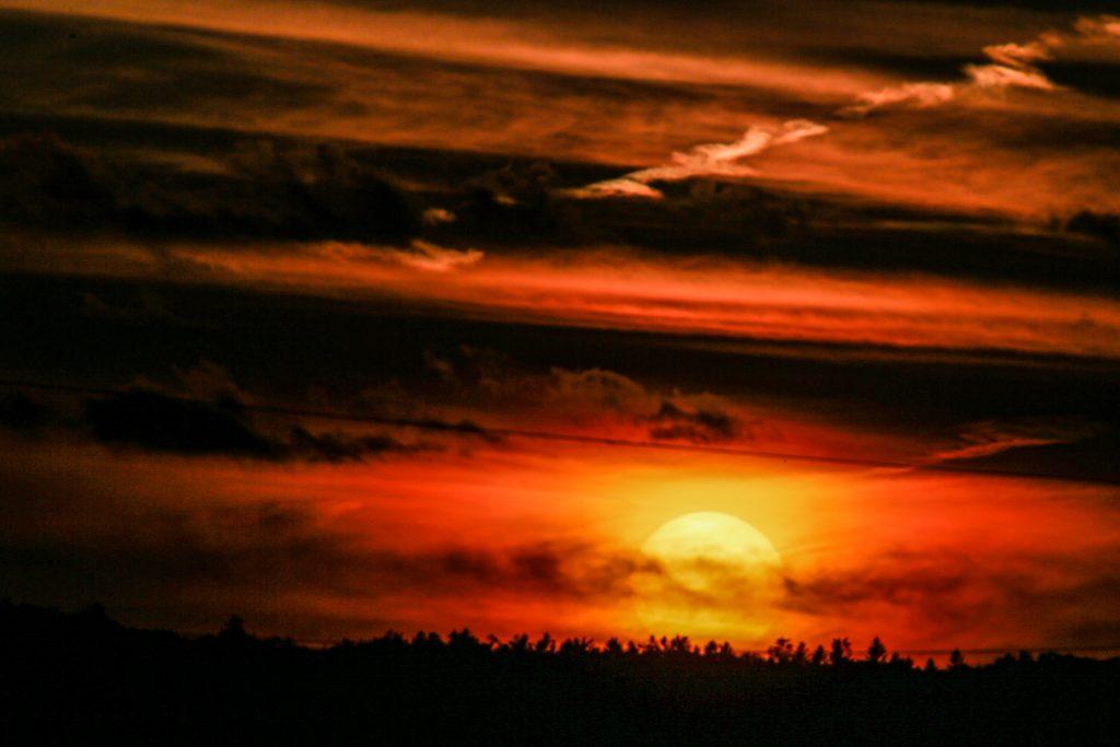 Sunset, Baldwin Hill